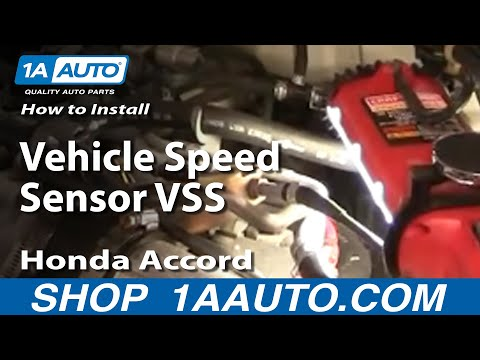 How To Replace Vehicle Speed Sensor 92-01 Honda Accord