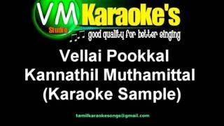 Vellai Pookkal Karaoke (GQ)