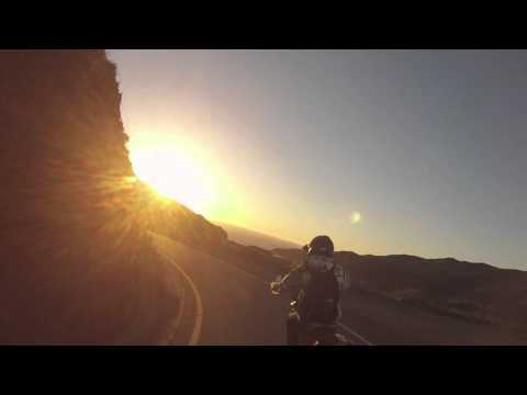 Marin Headlands Motorcycle Ride at Sunset