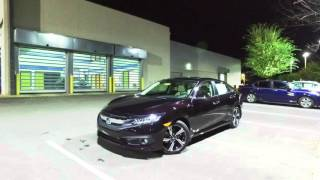 getlinkyoutube.com-2016 Honda Civic Touring WalkAround | First Look HD