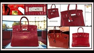 เผยโฉม Herme's Berkin กระเป๋าที่ขายได้ราคาแพงที่สุดในโลก (29-04-59)
