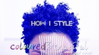 getlinkyoutube.com-NATURAL HAIR: HOW I STYLE + COLOR RESULTS