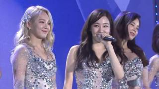 "161126 SNSD 소녀시 ""LION HEART - PARTY - HOOT"" performance WebTV Asia Awards 2016"