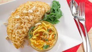 getlinkyoutube.com-Crispy Fish w/ Green Mango Salad Recipe ยำปลา(ไม่ดุก)ฟู - Hot Thai Kitchen!