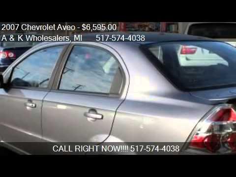2007 Chevrolet Aveo LT 4-Door - for sale in Lansing, MI 4891