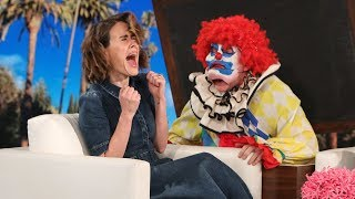 Ellen Ups Her Scare Game for 'AHS: Cult' Star Sarah Paulson width=