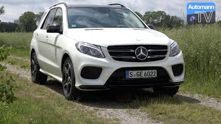 2016 Mercedes GLE 350 d (258hp) - DRIVE & SOUND (60fps)