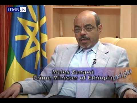 Prime Minister Meles Zenawi of Ethiopia - interview with Vickram Bahl
