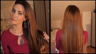 getlinkyoutube.com-Cuidados para un pelo largo, sano y brillante. My secret to long, healthy and shiny hair.