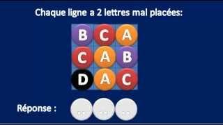 getlinkyoutube.com-Test n°1 Les carrés logiques - Astuces test psychotechnique et logique