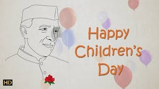 getlinkyoutube.com-Easy Chacha Nehru Drawing for Kids | Children's Day Special | Kids Learning Video | Shemaroo Kids