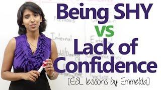 getlinkyoutube.com-Being Shy vs Lack of Confidence – Personality Development Video