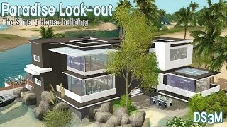 getlinkyoutube.com-The Sims 3 - House Building - Paradise Look-out