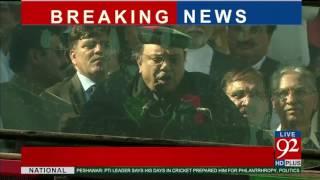 Asif Ali Zardari addresses in Malakand 25-04-2017 - 92NewsHDPlus