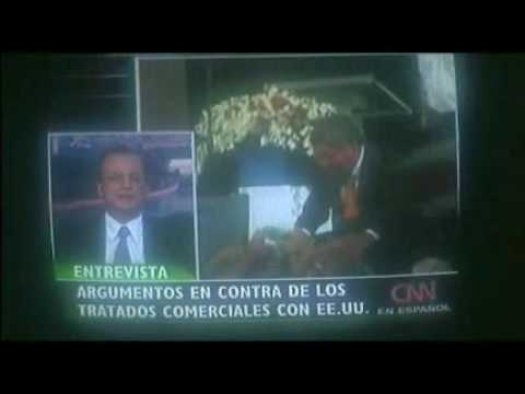 Ottón Solís en CNN (TLC)