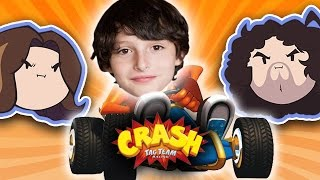 getlinkyoutube.com-Crash Tag Team Racing with Special Guest Finn Wolfhard - Guest Grumps