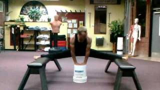 getlinkyoutube.com-How to Train for the Splits.......Even if You Are a Man!