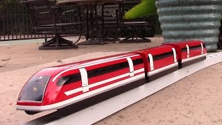 getlinkyoutube.com-Maglev train model test run