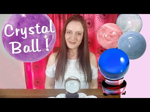 How To Use A CRYSTAL BALL! Spirit Communication and Psychic Aid. How To Do Scrying.