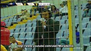 getlinkyoutube.com-expulsan a juan luis del Ricardo Saprissa -- Saprissa vs Cartago