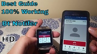 getlinkyoutube.com-How to set up any android smart watch with your smartphone 100% works