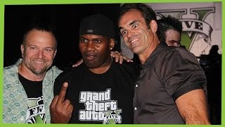 getlinkyoutube.com-GTA V Actors of Trevor Franklin and Michael interviews and Funny moments