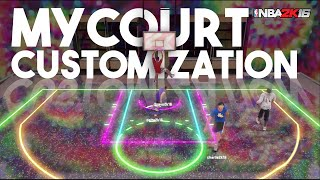 getlinkyoutube.com-NBA 2K16 MyCourt Customization & MyPlayer Info!