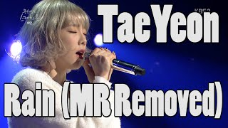 getlinkyoutube.com-TaeYeon (SNSD) - Rain (MR Removed) (Feb 19, 2016)