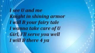 Color me Bad - All for love lyrics width=