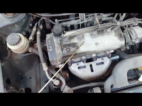 Где находится у Тойота Старлет сальник двигателя