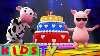 getlinkyoutube.com-Happy Birthday Song | Birthday Song for Kids and Children's | Kids TV
