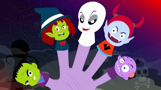 getlinkyoutube.com-Finger Family Monster | Halloween Song | Finger Family
