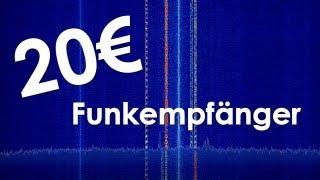 getlinkyoutube.com-20 € Funkempfänger - SDR mit dem DVB-T Stick (RTL2832U, RTL SDR)