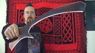getlinkyoutube.com-The Klingon Mek'leth - How practical is it?