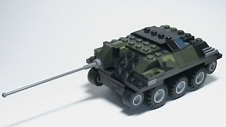 Lego World of Tanks #37 - Lego E-25 . tutorial