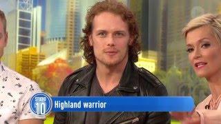 getlinkyoutube.com-Outlander Star Sam Heughan on Studio 10