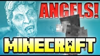 getlinkyoutube.com-Minecraft WEEPING ANGELS Doctor Who Mod!