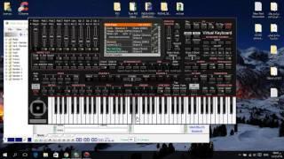 getlinkyoutube.com-برنامج جديد عزف على الكمبيوتر سهل الاستخدام korg pa4x 2016