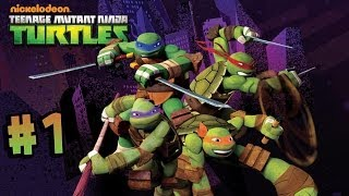 getlinkyoutube.com-Nickelodeon's Teenage Mutant Ninja Turtles - Walkthrough - Part 1 - Roof (X360) [HD]