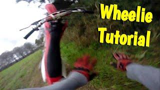 getlinkyoutube.com-How To Wheelie A DirtBike | Gone Wrong