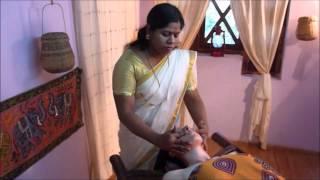 getlinkyoutube.com-Massaggio ayurvedico viso completo/Ayurvedic face massage