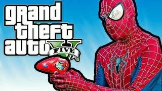 getlinkyoutube.com-SPIDER-MAN! | Grand Theft Auto V PC Mods Délires FR