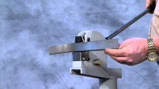 getlinkyoutube.com-Shrinker Stretcher -- A Metal Shaping Tool Ideal for forming Complex Shapes