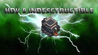 getlinkyoutube.com-HDV 9 indestructible ! Anti 3 étoiles GDC | Rayven | Papys Warriors | Clash of Clans