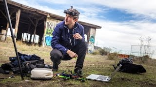 Quadcopter Racing with First Person Video!