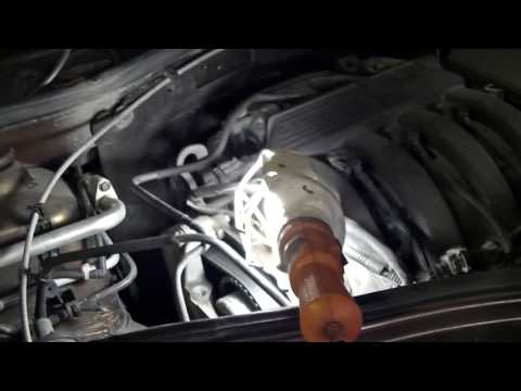 Проверка состояния ремня ГРМ Renault Duster