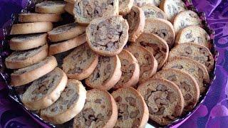 getlinkyoutube.com-فقاص بريستسج بالجوز(حلويات العيد) Fekkase prestige au noix