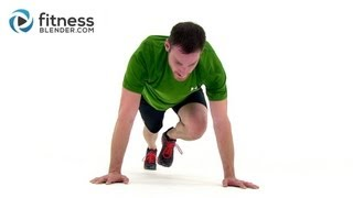 getlinkyoutube.com-HIIT the Ground Running - 33 Min High Intensity Interval Training for Endurance & Total Body Toning