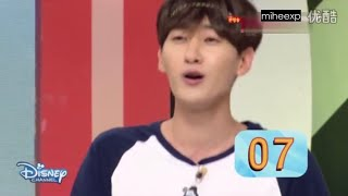 getlinkyoutube.com-[ENG SUB] Mickey Mouse Club - Eunhyuk Breaking Leeteuk Record?