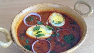 getlinkyoutube.com-Dhaba Style Egg curry  or Anda Curry Recipe By Chef Shaheen